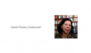 Derecho Procesal ¿Constitucional?