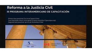 III Programa interamericano de capacitación sobre la reforma a la justicia civil