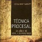 Libro destacado: Técnica procesal. 25 años de estudios forenses