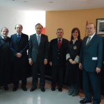 Ministro de Justicia, diputados y ministros de la Corte Suprema visitan Madrid