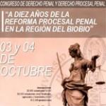 Congreso de Derecho Penal y Derecho Procesal Penal en el Bíobío