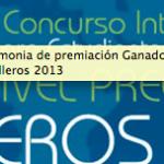 Ceremonia de premiación Ganadores Semilleros 2013