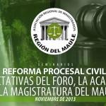 Ciclo de seminarios sobre la reforma procesal civil en El Maule