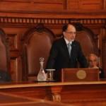 Presidente Sergio Muñoz inaugura año judicial 2014