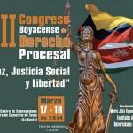 """VII Congreso Derecho Procesal """"Paz, Justicia Social y Libertad"""""""