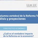 """Seminario """"La columna vertebral de la Reforma Tributaria: Análisis y Proyecciones"""""""