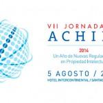 Nuevas regulaciones en propiedad intelectual serán el tema de las VII Jornadas de Achipi