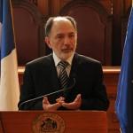 Pleno de la Corte Suprema hizo declaración pública por acusación contra ministro Héctor Carreño