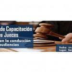 Programa de capacitación para jueces
