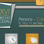 Los conferencistas del XXXVI Congreso Colombiano de Derecho Procesal 2015
