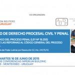 Seminario Derecho Procesal Civil y Penal en Uruguay