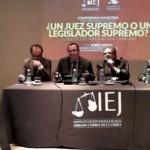 Clase magistral del prof. Jordi Nieva: ¿Un Juez Supremo o un Legislador Supremo?