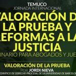 """Seminario """"Valoración de la prueba y reformas a la justicia"""