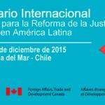 """Seminario internacional """"Nuevos desafíos para la reforma de la justicia civil en América Latina"""""""