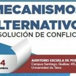 Seminario de mecanismos alternativos de solución de conflictos