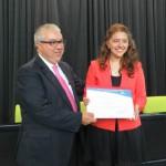Ganadores del primer concurso nacional Semilleros de Derecho Procesal de la UDP