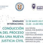 """Seminario Internacional """"Conducción Activa del Proceso para una Nueva Justicia Civil"""""""
