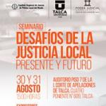 Desafios Justicia Local Agosto