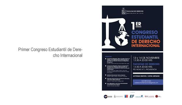 Primer Congreso Estudiantil Derecho Internacional